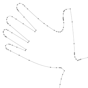 Hand traced. How to alter clipart