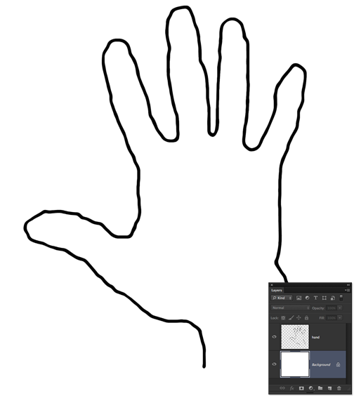 Hand traced. Free outline cliparts download