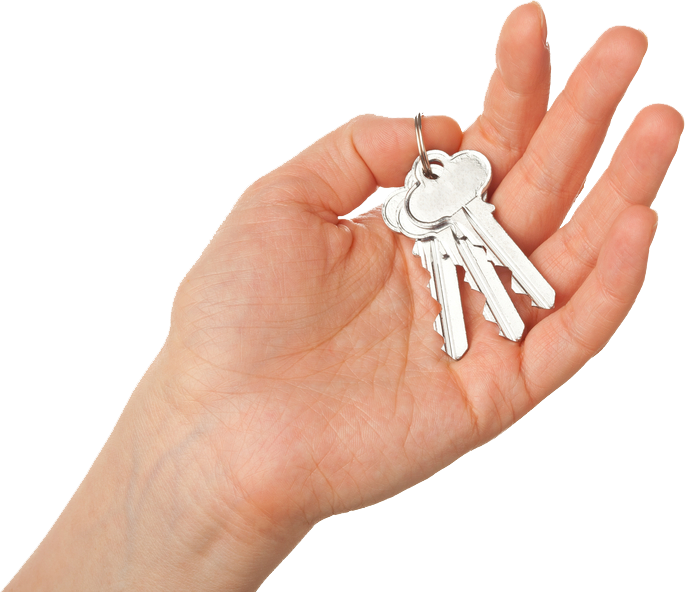 Hand with keys png. To achieving small