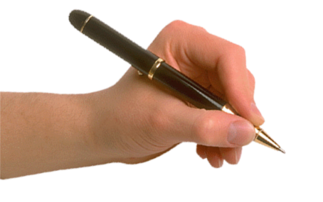 Hand with pen png. Images free download in