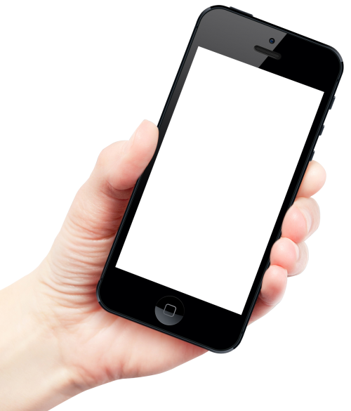 Hand with phone png. Holding smartphone image pngpix