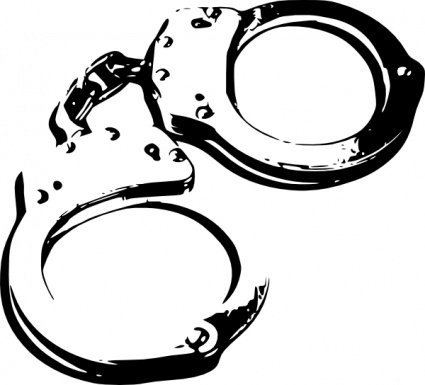 Handcuffs clipart. Free and vector graphics