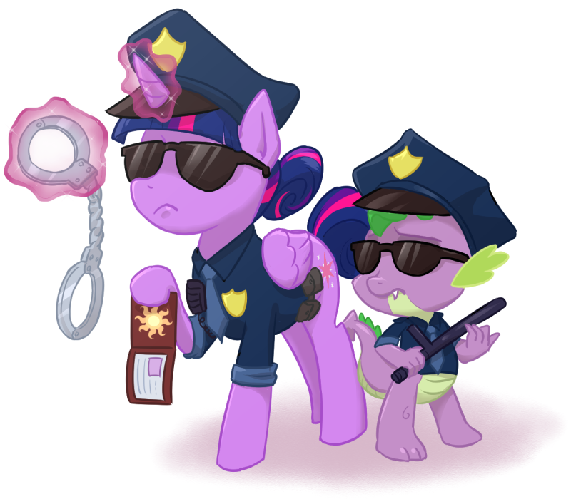 Handcuff clipart mlp. Cops by ta na