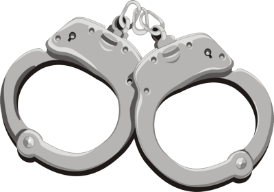 Handcuff clipart police officer. Handcuffs png images free