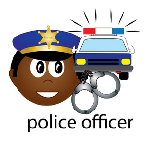 Handcuff clipart police officer. Free image computer black
