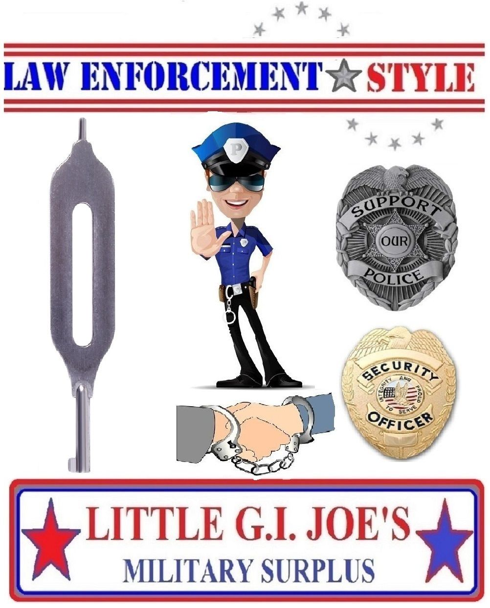 Handcuffs clipart handcuff key. Police security law enforcement