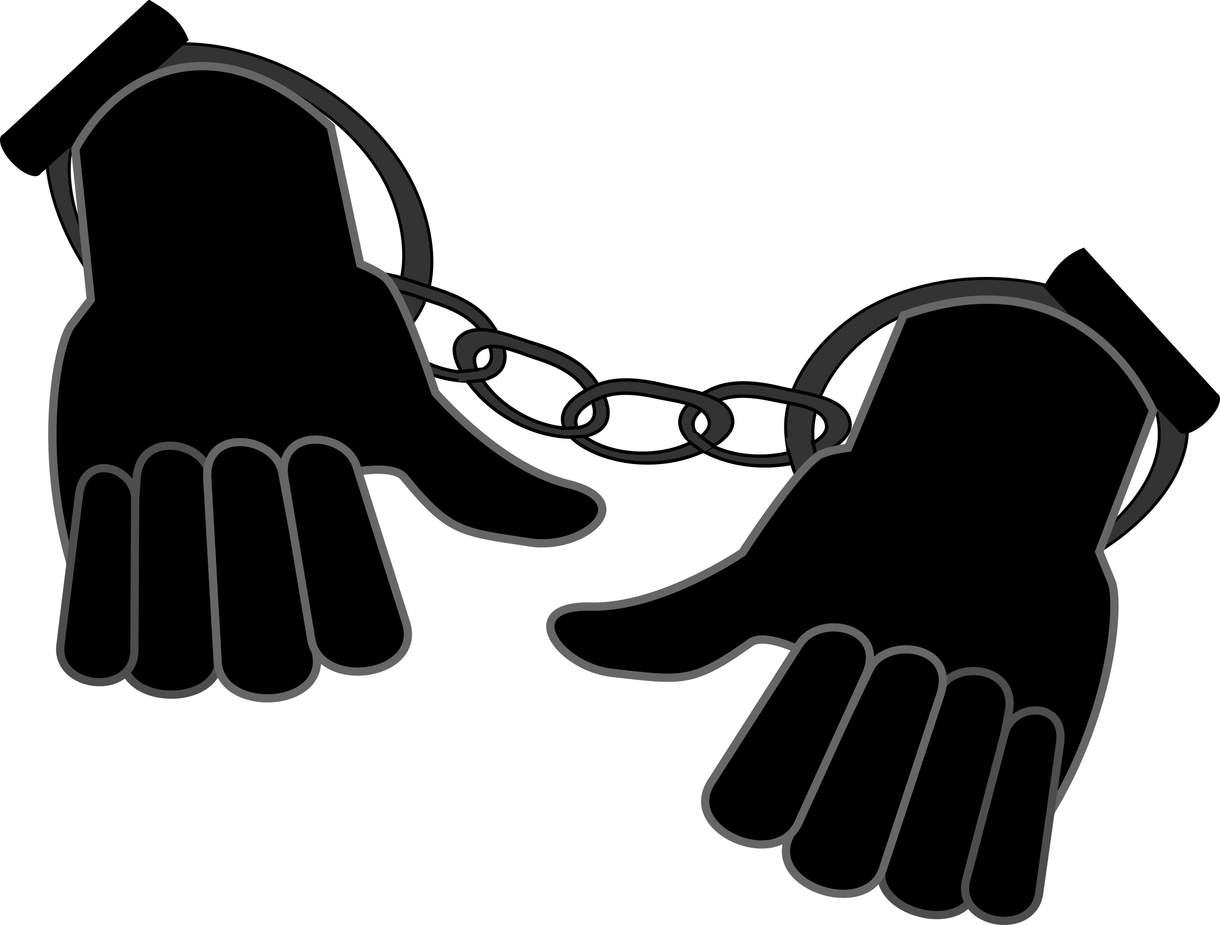 Handcuffs clipart shackles. Gallery clip art picture