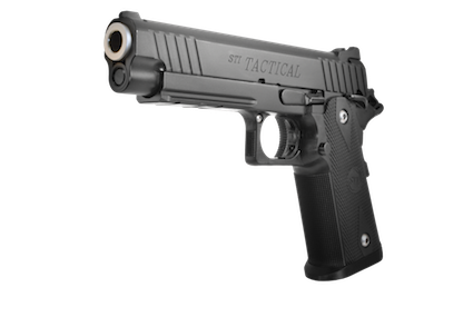 Handgun front png. Sti tactical available in