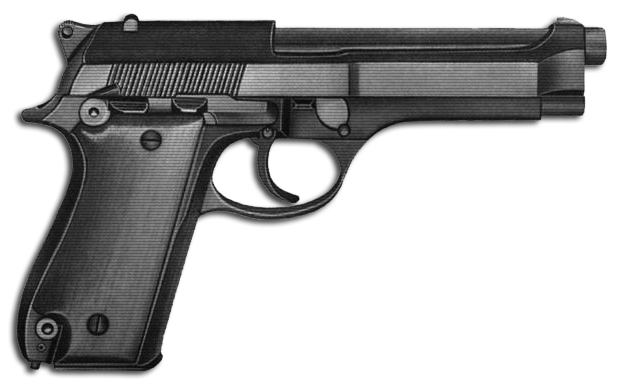 Handgun transparent background png. Download free image with