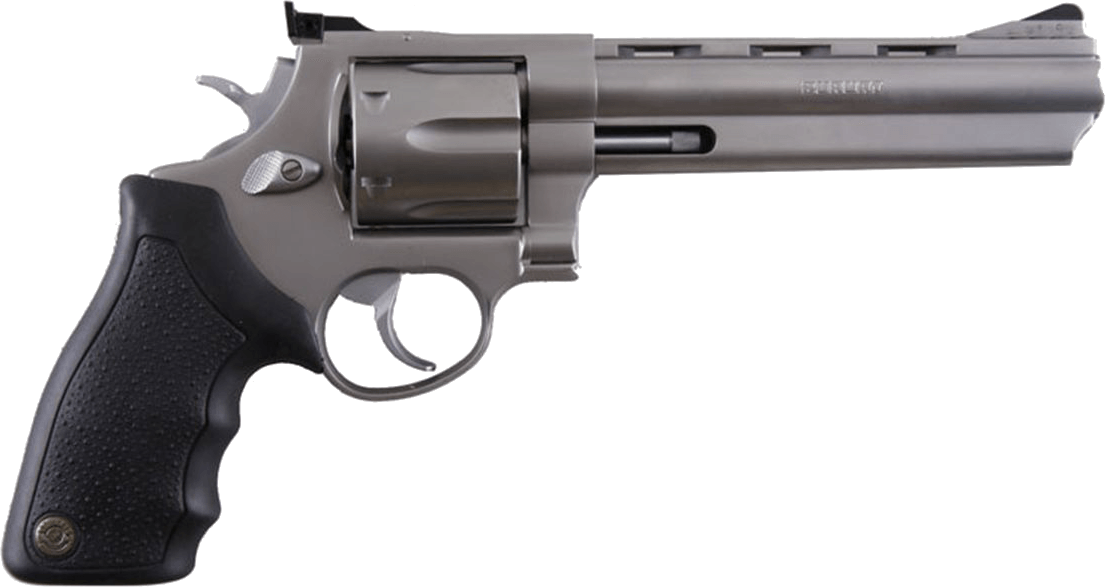 Handgun transparent background png. Modern revolver stickpng download