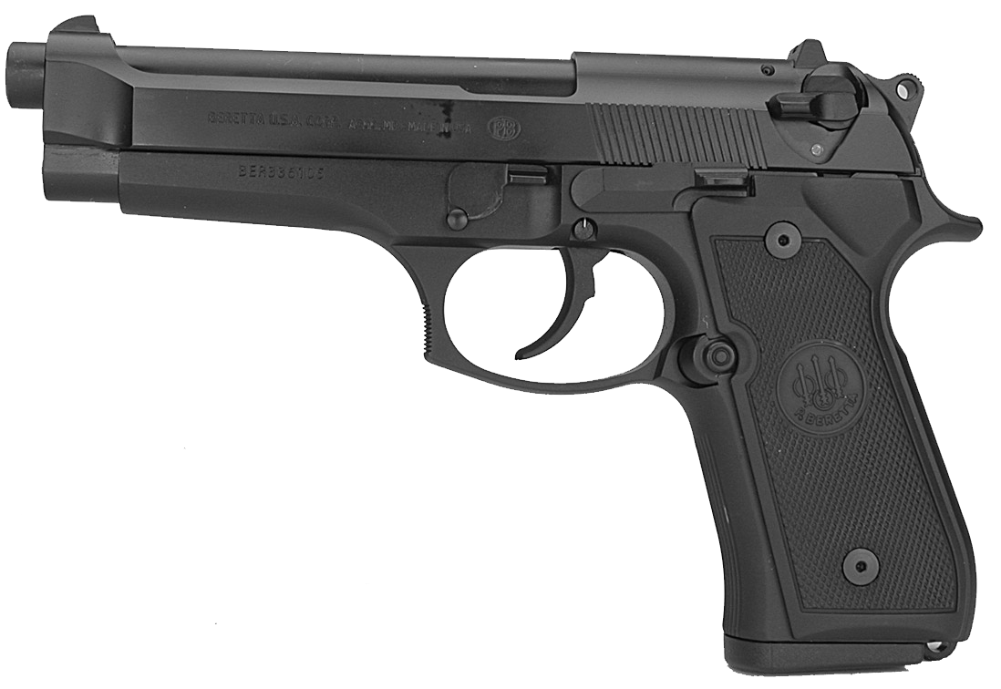 Handgun transparent background png. Beretta image purepng free