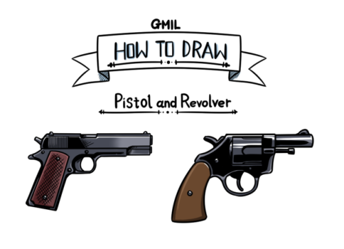 Weapon drawing revolver. Pistol tumblr gmil show