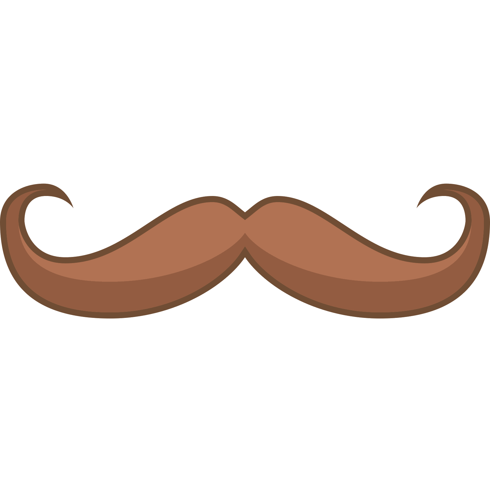 Handlebar moustache png. Mustache icon free download