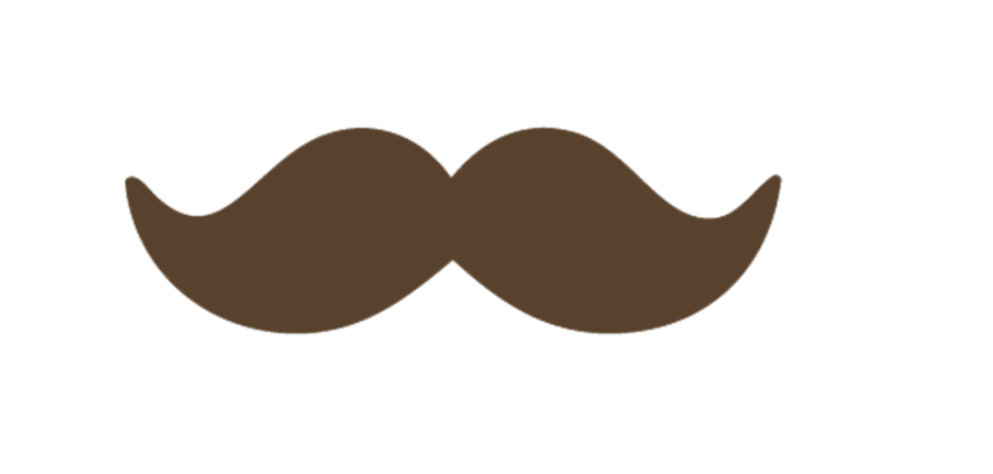 Handle bar mustache png. Moustache brown by iamacrazyboyeditions