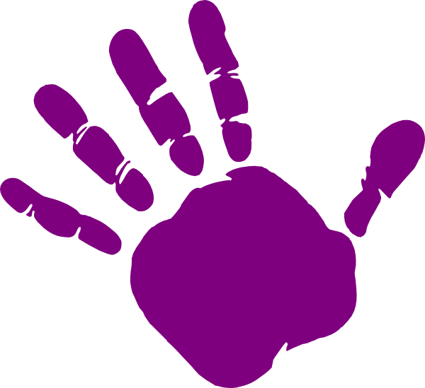 Handprint clipart. Cilpart attractive inspiration st
