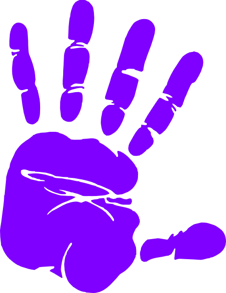 handprint transparent little