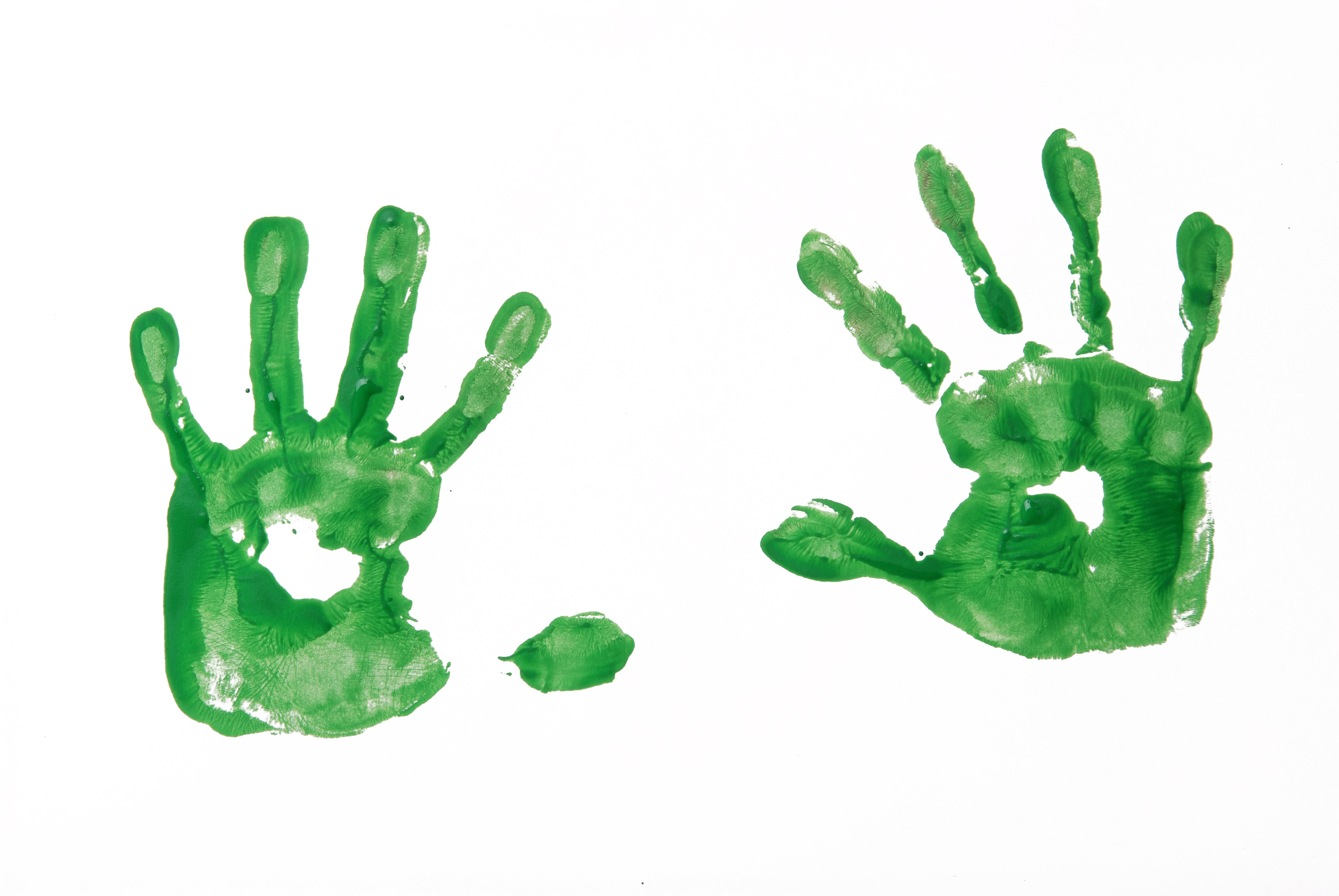 Handprint clipart little hand. Paint pencil and in