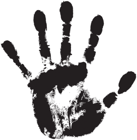 Transparent png free images. Handprint drawing picture transparent library