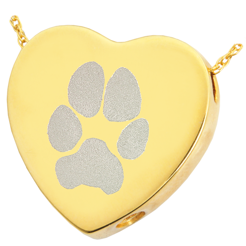 Handprint drawing paw print. Pet jewelry with laser