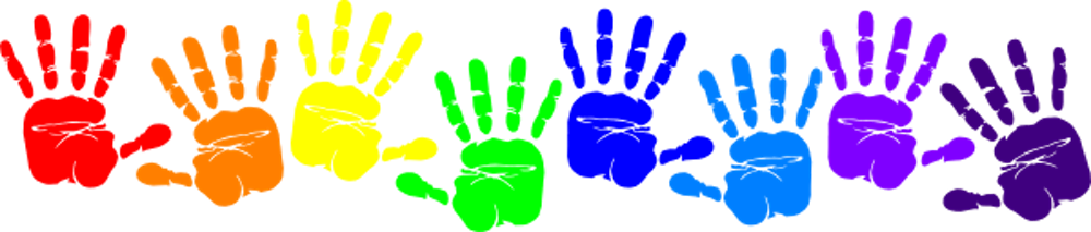 Image result for paint handprint clipart