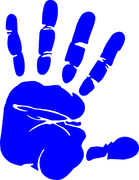 Handprint transparent pink. Left png images pluspng