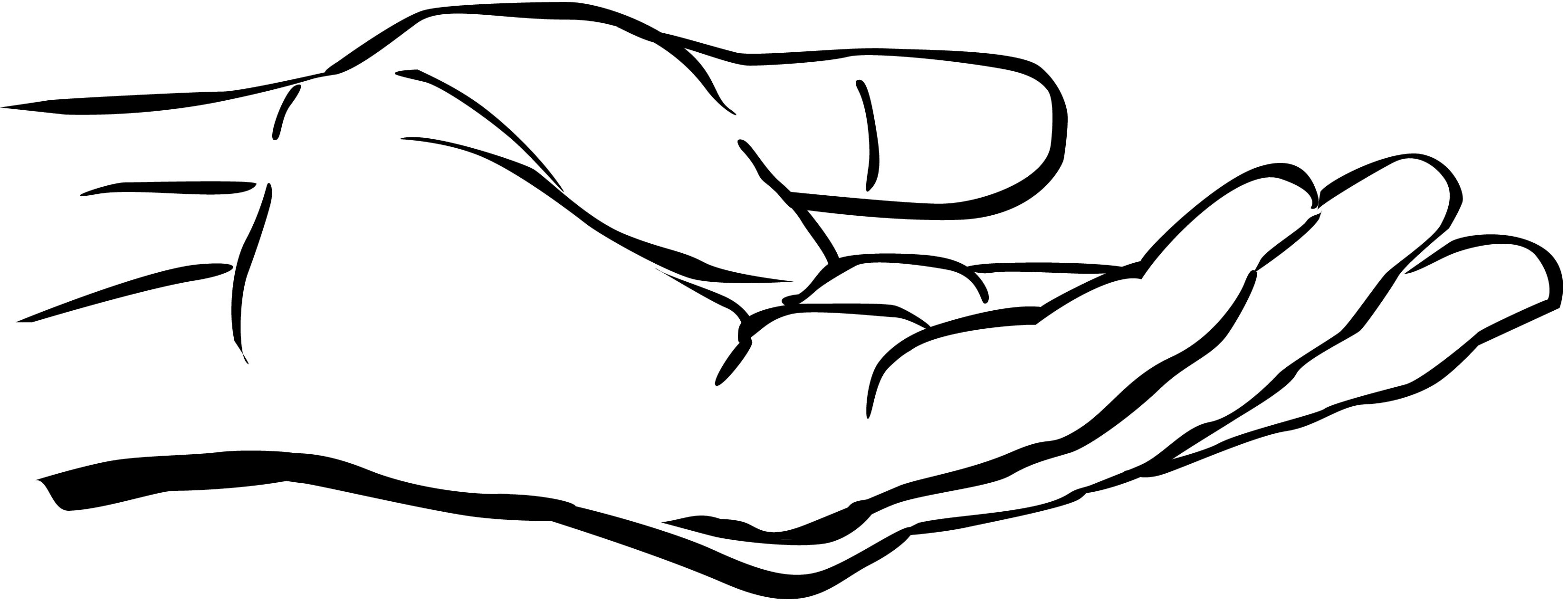 Hands clipart. God s hand of