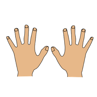 Hands clipart. Only kid clipartix