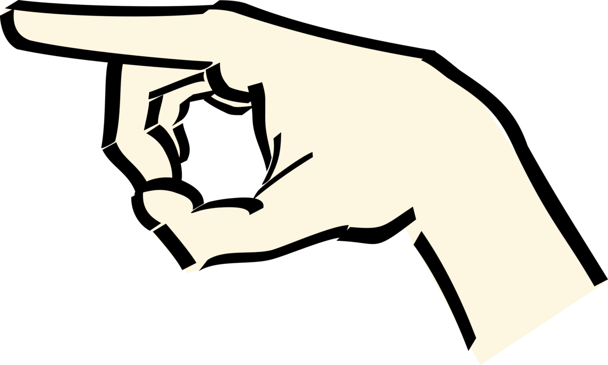 Hands clipart cat. Index finger hand pointing