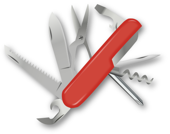 Hands clipart knife. Swiss army