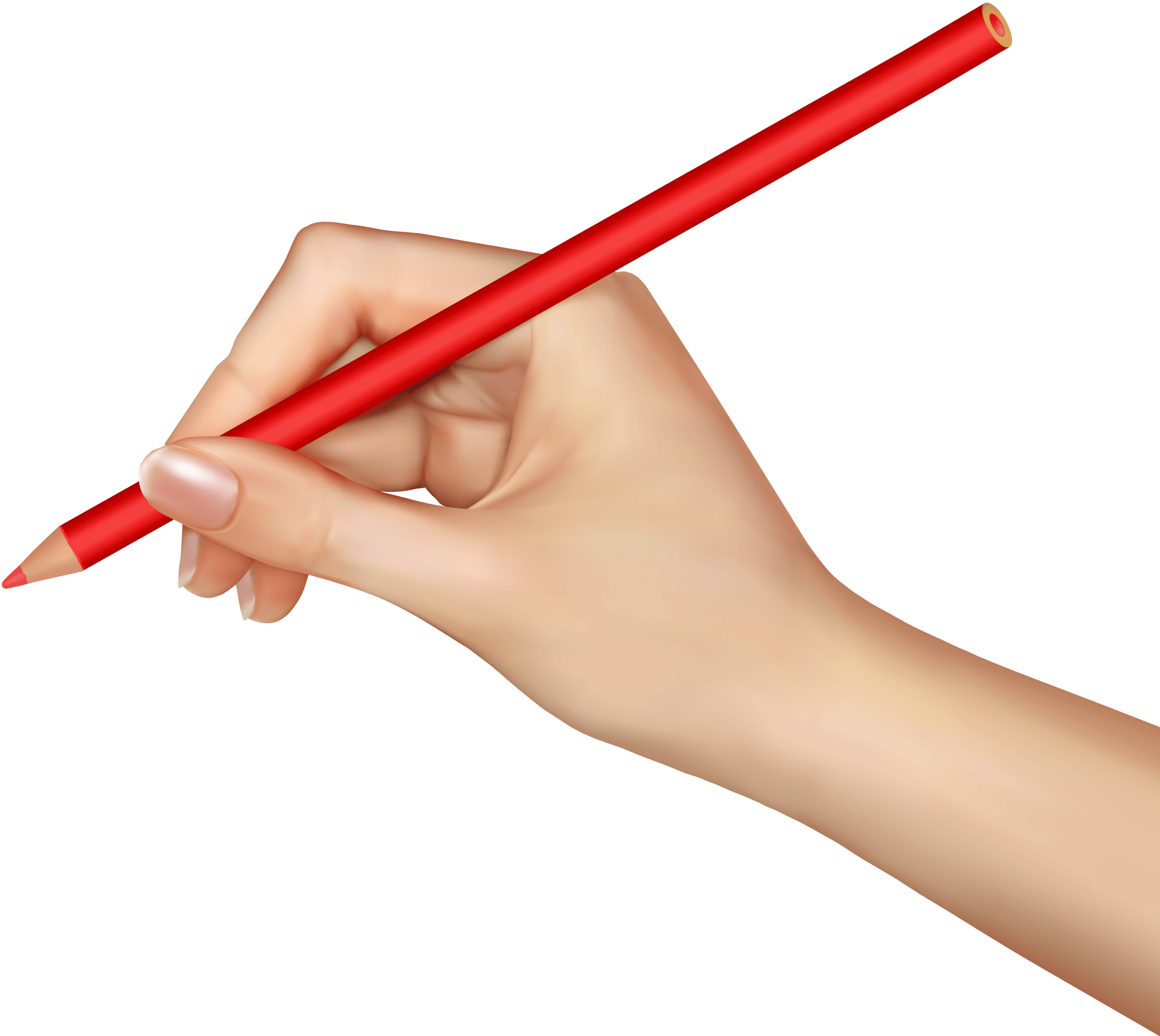 Hands clipart pencil. Free hand cliparts download