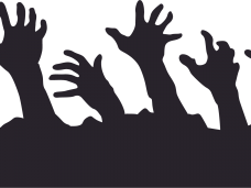 Hands clipart zombie. Hand png free download
