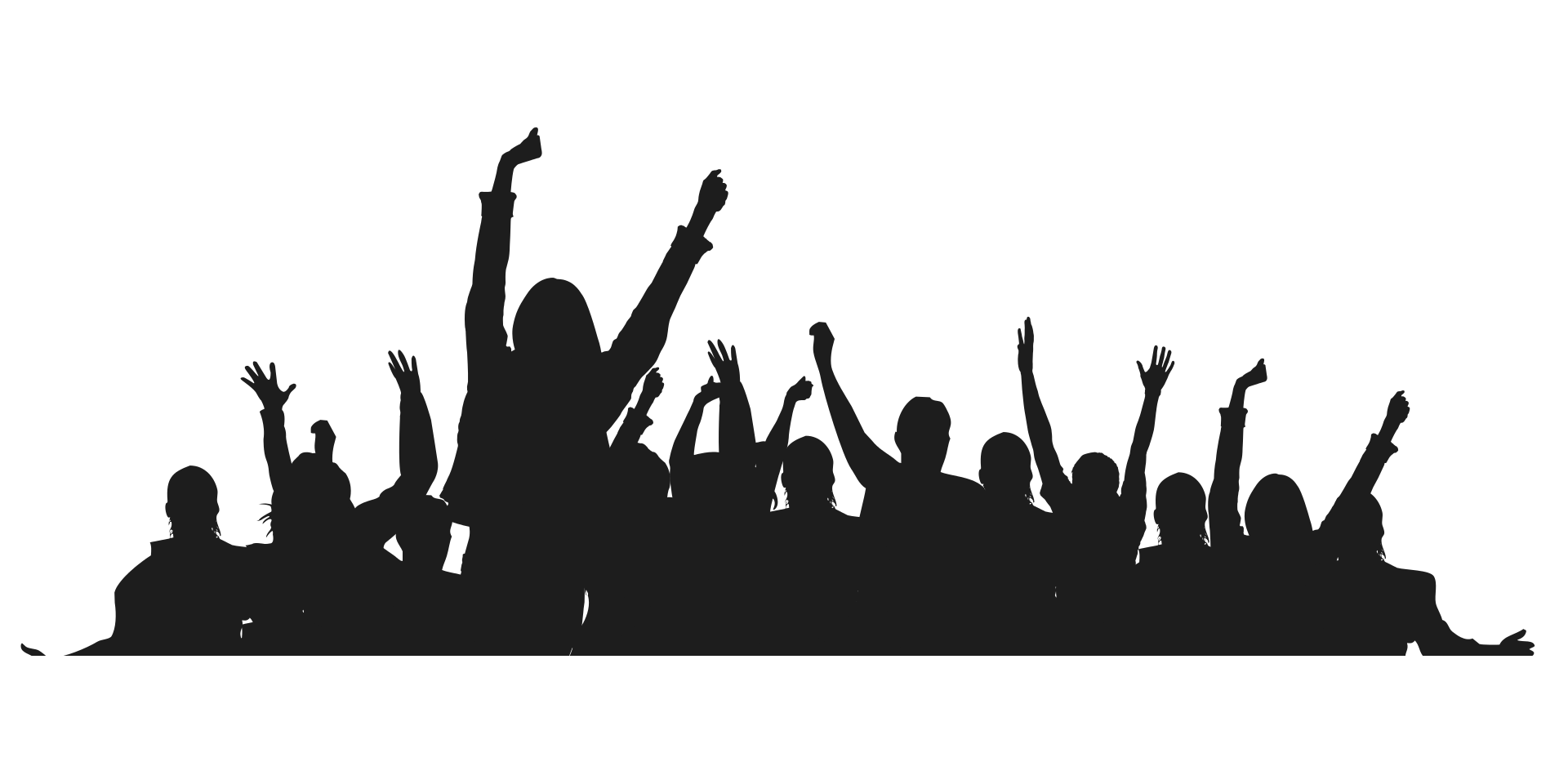 Hands in the air png. Image