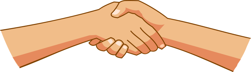 Handshake clipart. The top best blogs