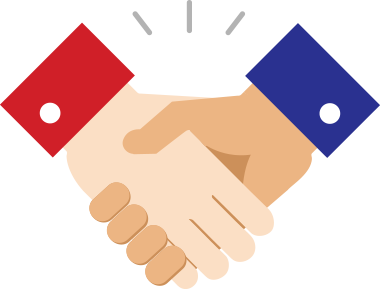 Handshake clipart business meeting. Banner black and