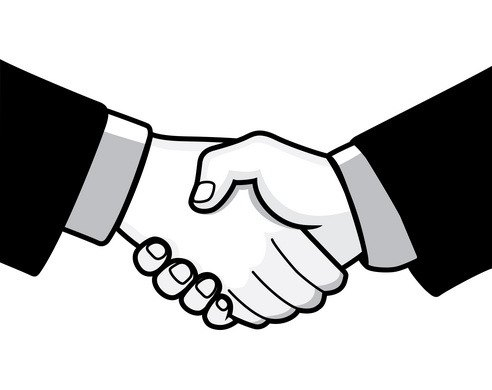 Handshake clipart great compromise. Cilpart pleasurable ideas black