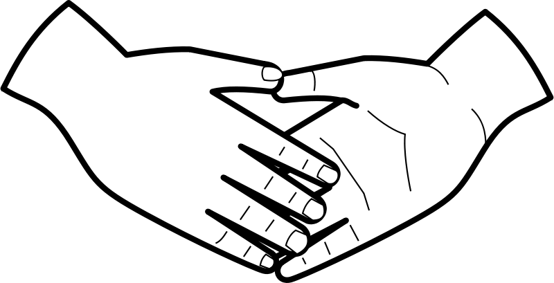 Handshake clipart helping hand. Pin by spot on