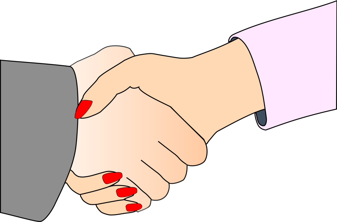 Handshake clipart holding hands. Woman businessperson free commercial