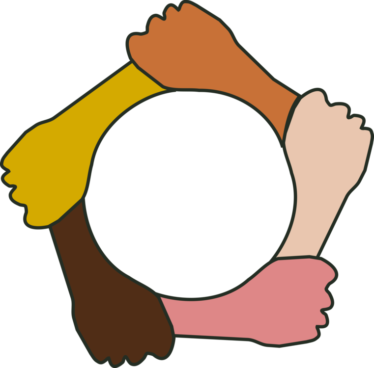 Handshake clipart holding hands. Circle download free commercial