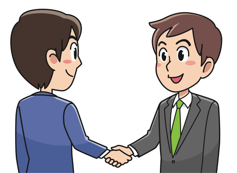 Handshake clipart holding hands. Onlinelabels clip art business
