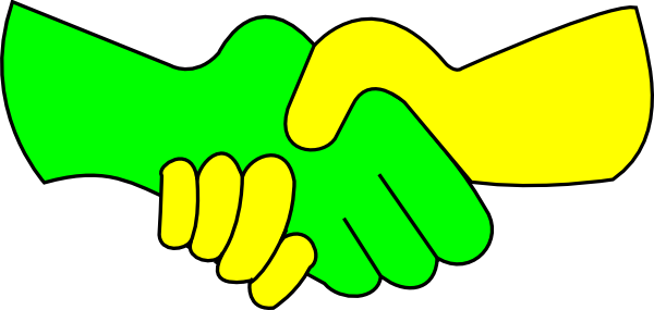 Handshake clipart helping hand. Free pictures of download