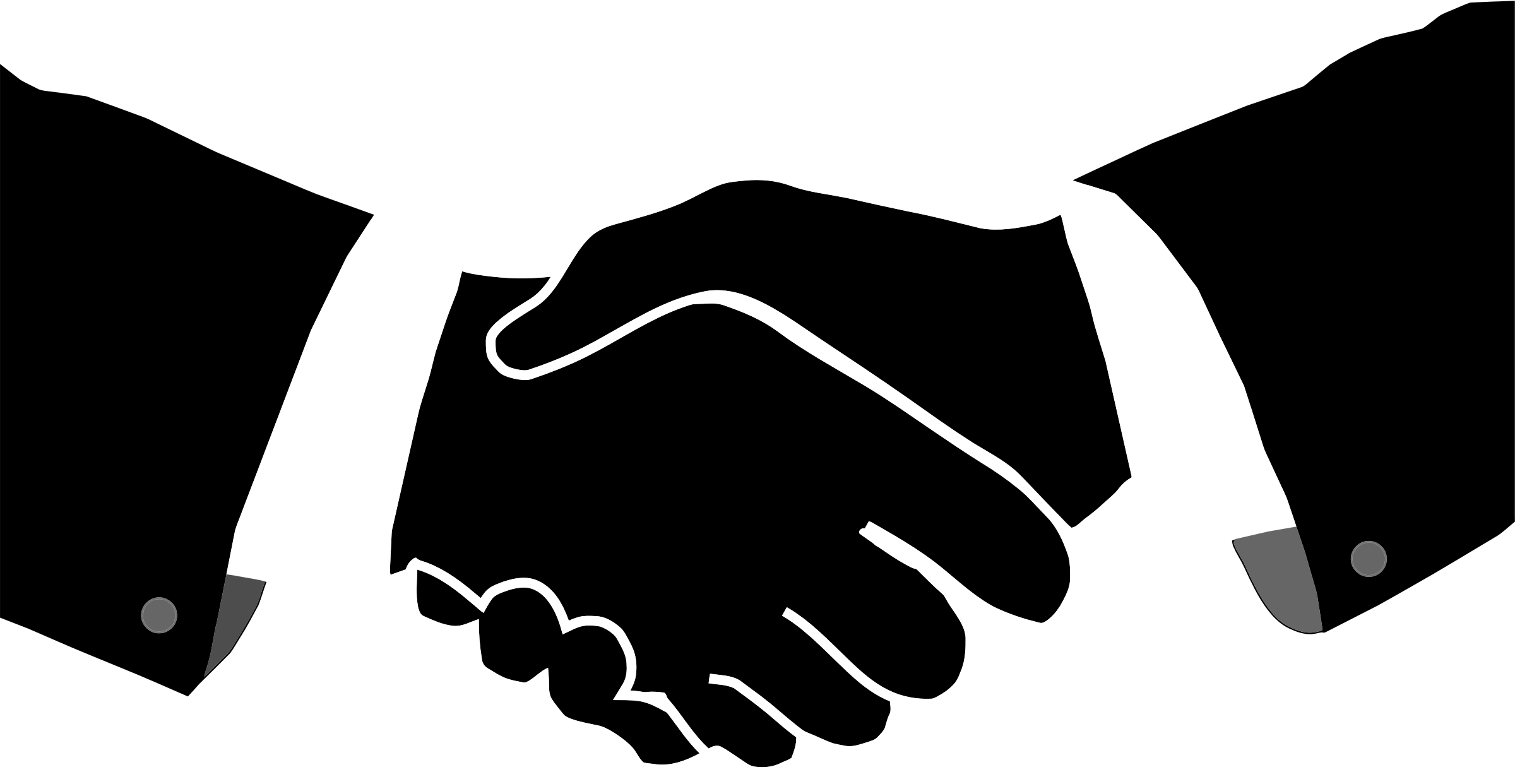 Handshake clipart png. Collection of transparent