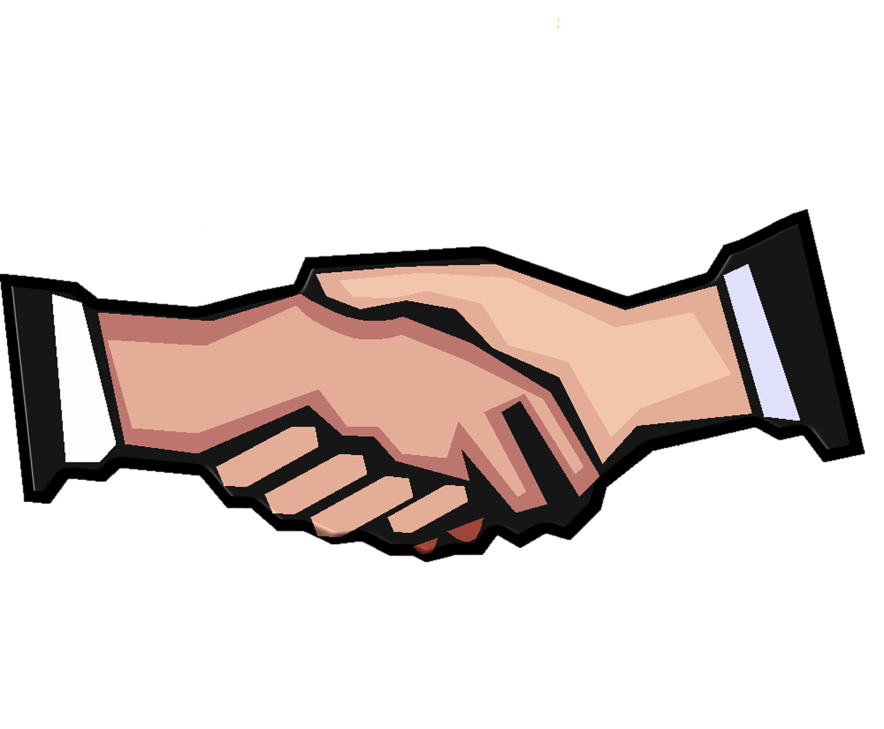 Handshake clipart teamwork. Group case page improving
