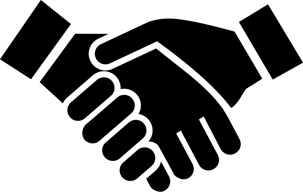 Handshake vector png. Svg icon free download
