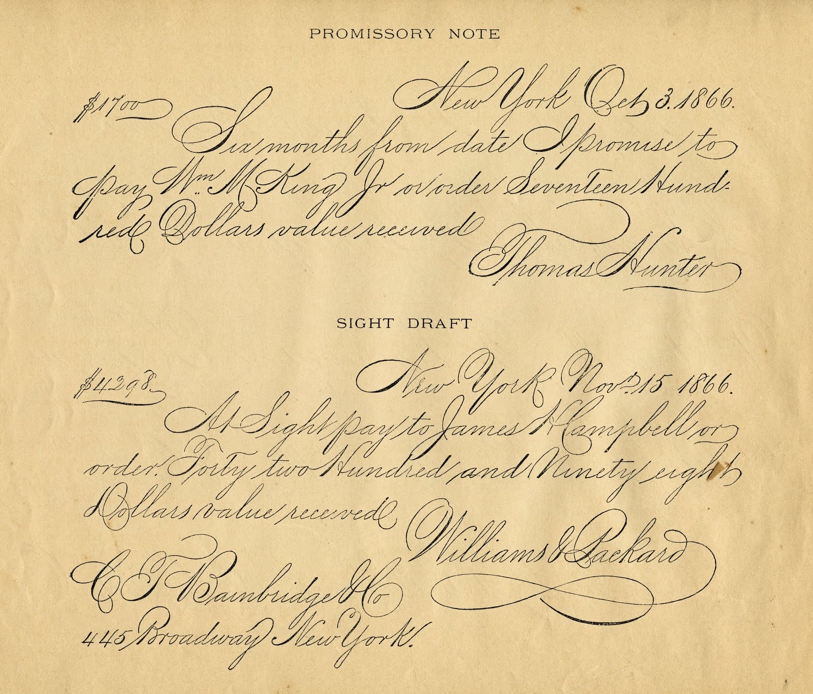 Handwriting clipart contents page. Antique clip art spencerian