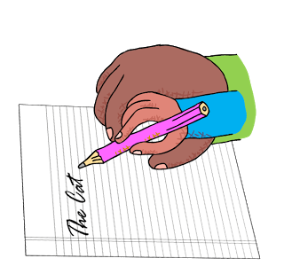 Handwriting clipart cursive. The best way to