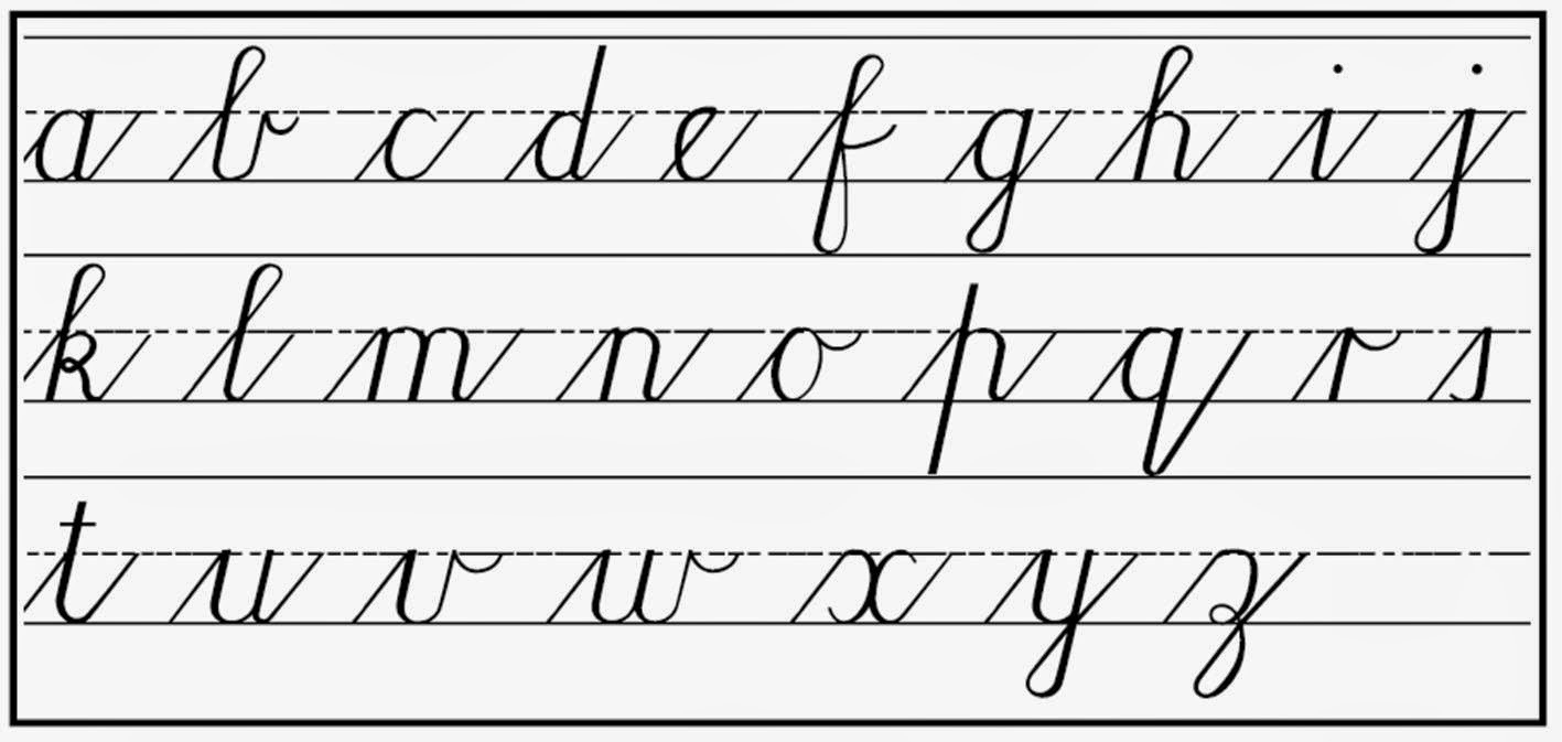 Handwriting clipart cursive. Letters clipground inside in