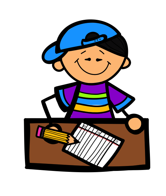 Handwriting clipart female author. Kids writing clip