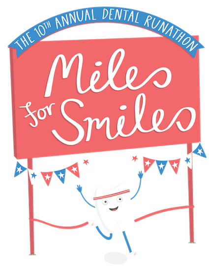 Handwriting clipart registration. Miles for smiles