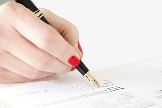 Handwriting clipart registration. Reality pen write png