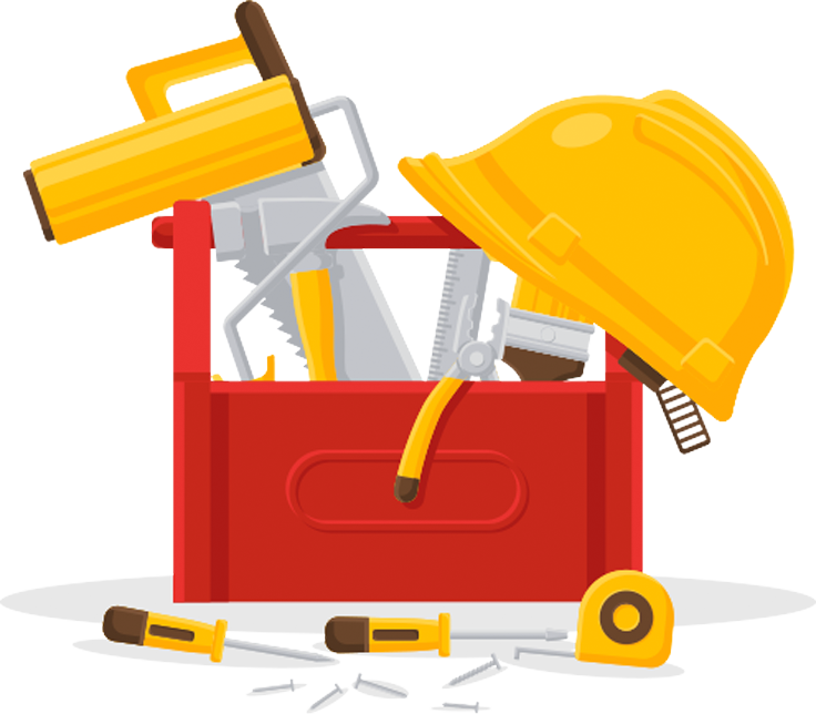 Handyman clipart hardware item. Retail facility maintenance our